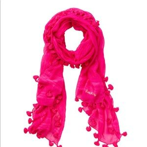 Carly scarf orchid pink
